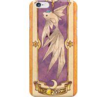 "Clow card ""The Freeze"" iPhone Case/Skin"