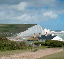 Seven Sisters: White Cliffs on the South Coast. by DonDavisUK