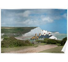 Seven Sisters: White Cliffs on the South Coast. Poster