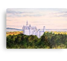 Neuschwanstein Castle Bavaria Germany Metal Print