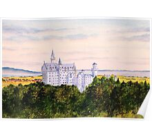 Neuschwanstein Castle Bavaria Germany Poster