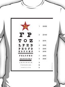Campaign Memories: Sarah Palin's Eye Chart T-Shirt