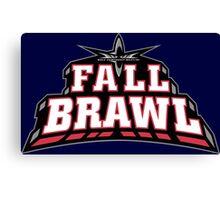 Fall Brawl Canvas Print