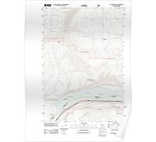 USGS Topo Map Washington Stacker Butte 20110809 TM Poster