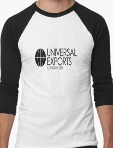 Universal Exports James Bond 007 light background Men's Baseball ¾ T-Shirt