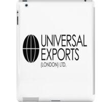 Universal Exports James Bond 007 light background iPad Case/Skin