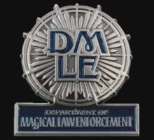 Department of Magical Law Enforcement Badge by Serdd