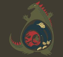Monster Food Chain by Tuism