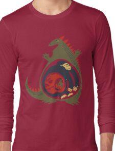Monster Food Chain Long Sleeve T-Shirt