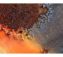 Crusted Surface Photographic Print