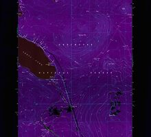 USGS Topo Map Oregon Odell Lake 280964 1967 24000 Inverted by wetdryvac
