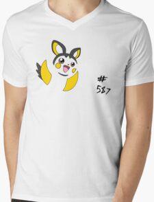 Pokemon 587 Emolga Mens V-Neck T-Shirt