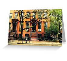 Trees Grow in Brooklyn  Greeting Card