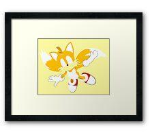 Tails Framed Print