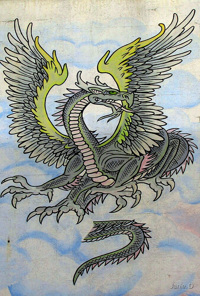 The Dragon Above The Tattoo (Studio) by Janie. D