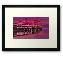 """Dawn Blush"" Framed Print"