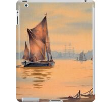 River Thames At Greenwich London iPad Case/Skin