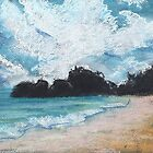 Horseshoe Bay (pastel) by Niki Hilsabeck