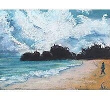 Horseshoe Bay (pastel) Photographic Print