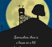 House on a Hill by samedog