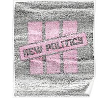 New Politics Lyric Art Poster