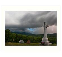 Thunderstorm Drama Art Print