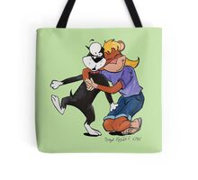 Penny Hugs Butch Elsewhere Tote Bag