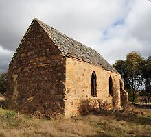 Abandoned Church outside Canberra by Bryan Cossart