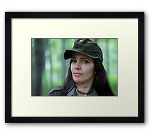 Lady in green .1st Special Forces Operational Detachment-Delta (Airborne) . by Brown Sugar . Views (502)  favirited by (1)  .Thank you friends !!! Framed Print