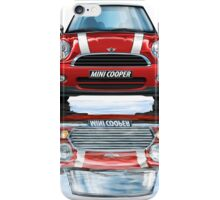 Mini Cooper Old and New iPhone Case/Skin