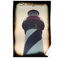 St. Augustine - Lighthouse Caption: May 2011 Poster