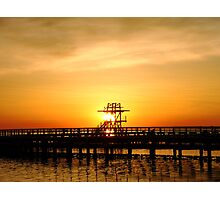 Warmth of a sunrise Photographic Print