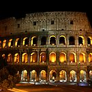 Colosseo by night by Daniela Pintimalli