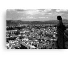 A View from the Duomo Canvas Print