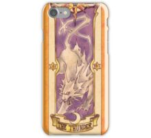 "Clow card ""The Thunder"" iPhone Case/Skin"