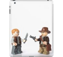 Nice try kid, but I think you just brought a knife. To a gunfight iPad Case/Skin