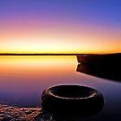 What a Sunrise! - Redland Bay Qld by Beth  Wode