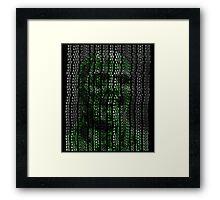 Matrix Fulci Zombie Framed Print
