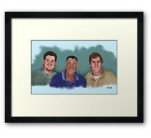 The Winfield Boys Framed Print
