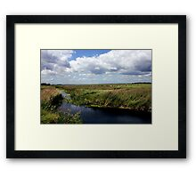 Suffolk landscape Scene at Aldeburgh Framed Print