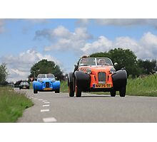 Burton car Photographic Print