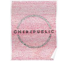 OneRepublic Lyric Art Poster