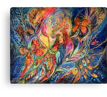 The Shining of the Night Canvas Print