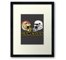 Gameday Framed Print