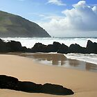 Coumeenole Beach, Dingle Peninsula, Ireland by CliveOnBeara