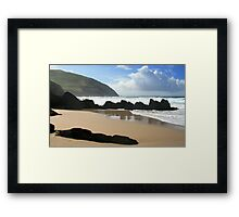 Coumeenole Beach, Dingle Peninsula, Ireland Framed Print