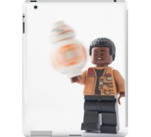 He's spinning the ball on his finger! iPad Case/Skin