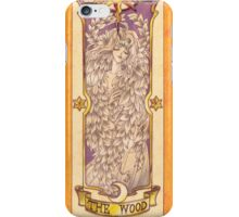 "Clow card ""The Wood"" iPhone Case/Skin"