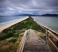 Bruny Island Isthmus by Kana Photography