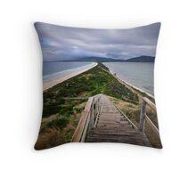 Bruny Island Isthmus Throw Pillow